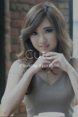 Cute #makeup #portfolio