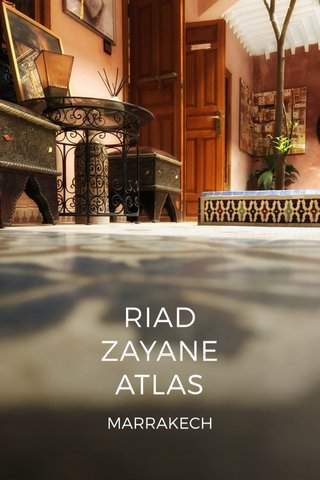 RIAD ZAYANE ATLAS MARRAKECH