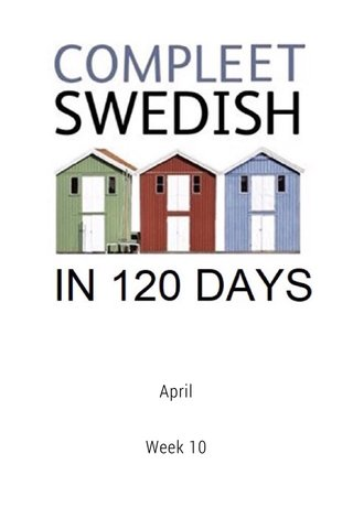 April Week 10