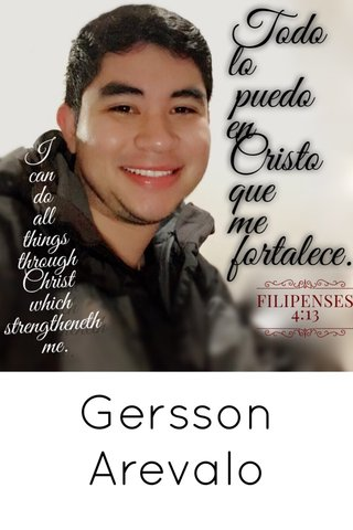 Gersson Arevalo