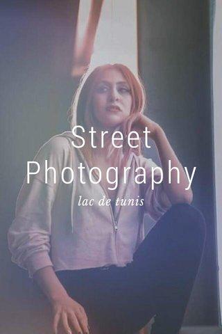 Street Photography lac de tunis