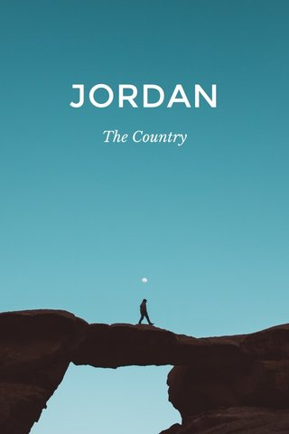 JORDAN The Country