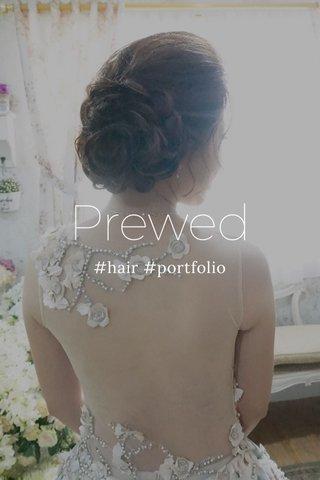 Prewed #hair #portfolio