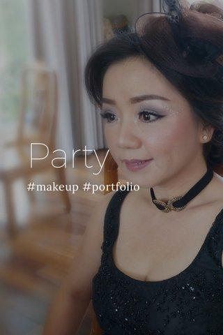Party #makeup #portfolio