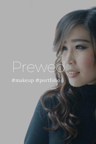 Prewed #makeup #portfolio