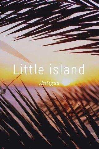 Little island Antigua