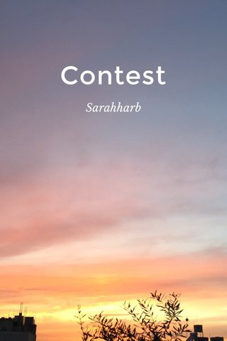 Contest Sarahharb