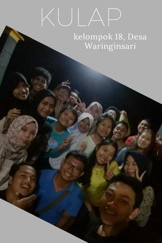 KULAP kelompok 18, Desa Waringinsari