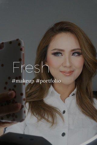 Fresh #makeup #portfolio