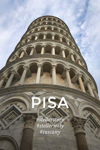 PISA #stellerstory #stelleritaly #tuscany