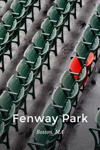 Fenway Park Boston, MA