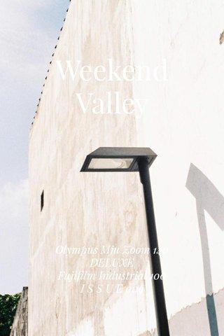 Weekend Valley Olympus Mju Zoom 140 DELUXE Fujifilm Industrial 100 I S S U E 009