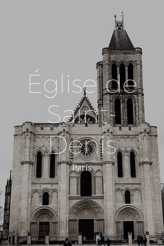 Église de Saint-Denis Paris