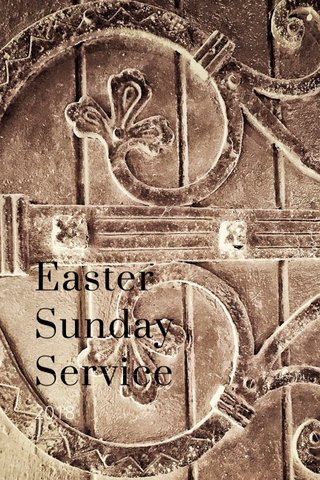 Easter Sunday Service 2018
