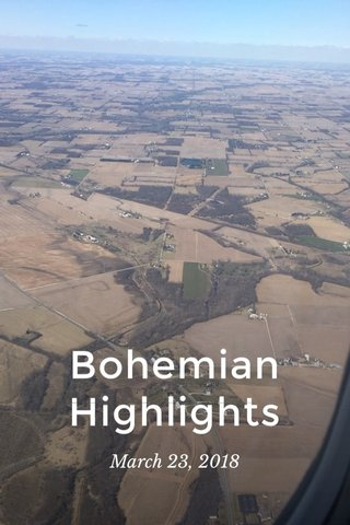 Bohemian Highlights March 23, 2018