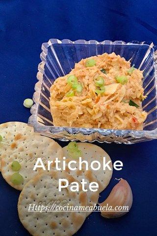 Artichoke Pate Https://cocinameabuela.com