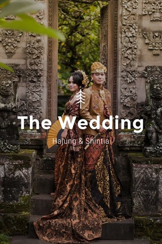 The Wedding Hajung & Shintia