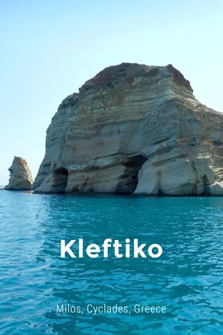 Kleftiko Milos, Cyclades, Greece