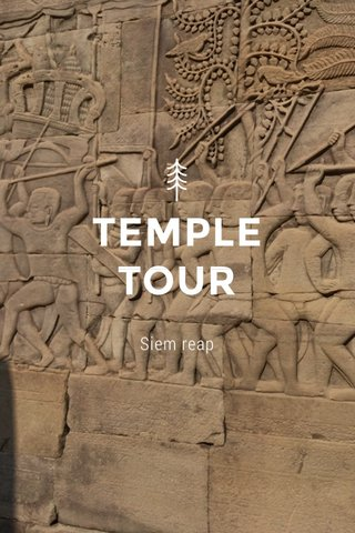 TEMPLE TOUR Siem reap
