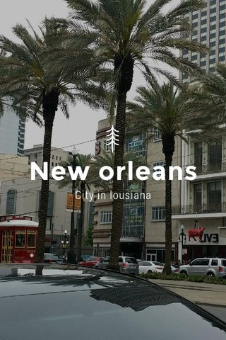 New orleans City in lousiana
