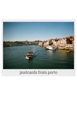 postcards from porto