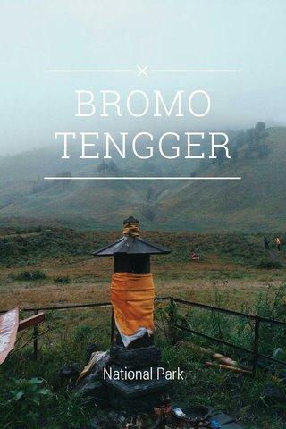 BROMO TENGGER National Park