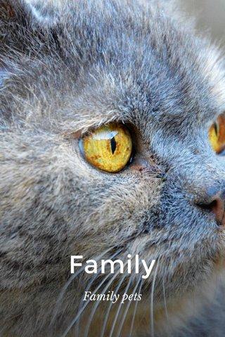 Family Family pets