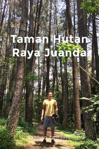 Taman Hutan Raya Juanda Bandung, April 2018