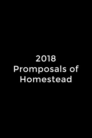 2018 Promposals of Homestead