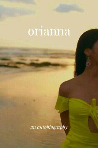orianna an autobiography