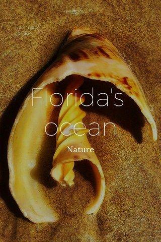 Florida's ocean Nature
