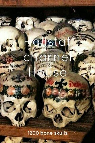 Hallstat charnel House 1200 bone skulls