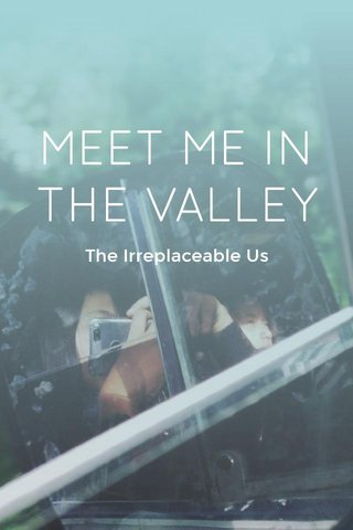 MEET ME IN THE VALLEY The Irreplaceable Us