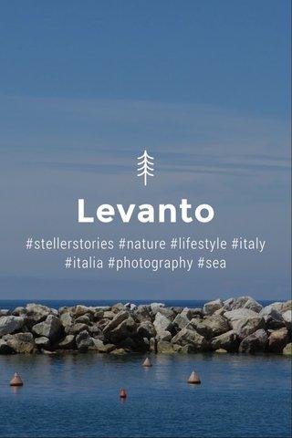 Levanto #stellerstories #nature #lifestyle #italy #italia #photography #sea