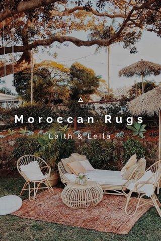 Moroccan Rugs Laith & Leila