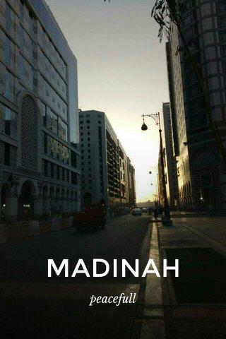 MADINAH peacefull