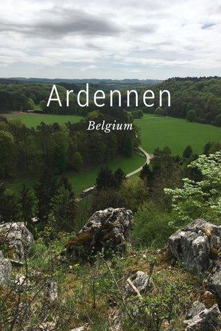 Ardennen Belgium