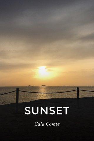 SUNSET Cala Comte