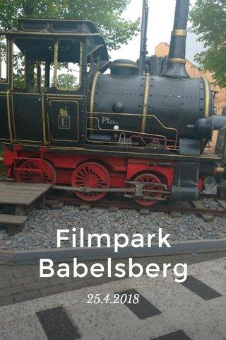 Filmpark Babelsberg 25.4.2018