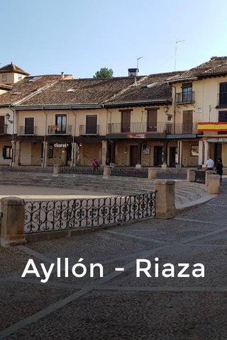 Ayllón - Riaza