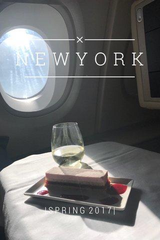 NEWYORK |SPRING 2017|