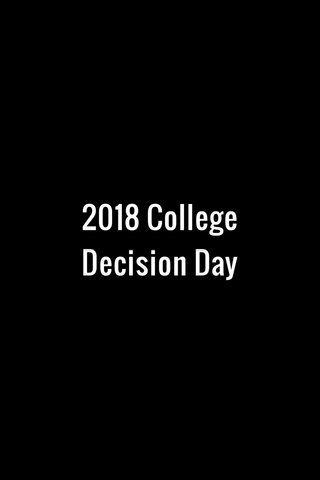 2018 College Decision Day