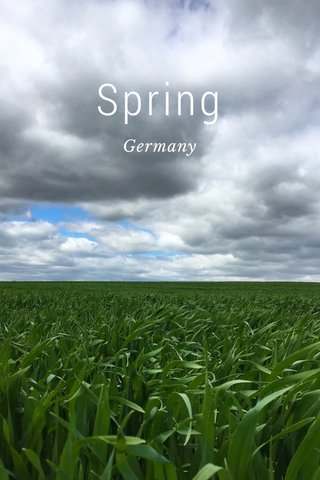Spring Germany