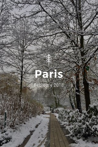 Paris February 2018