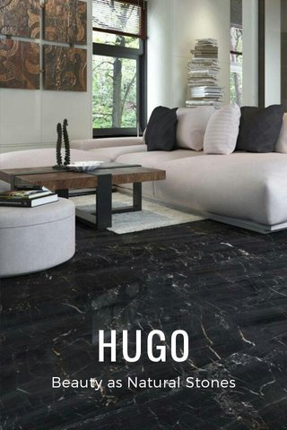HUGO Beauty as Natural Stones