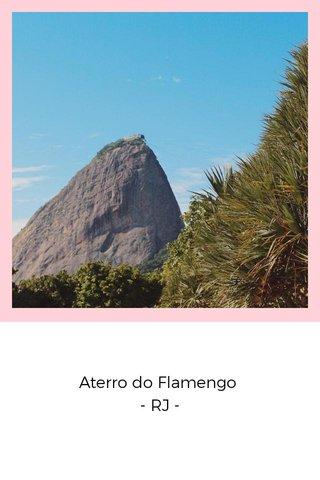 Aterro do Flamengo - RJ -