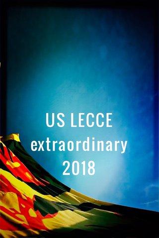 US LECCE extraordinary 2018
