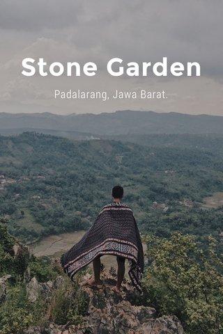 Stone Garden Padalarang, Jawa Barat.