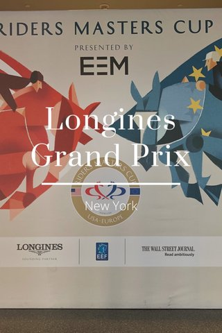 Longines Grand Prix New York