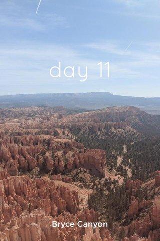 day 11 Bryce Canyon